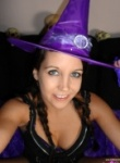 Andi Land is a purple witch