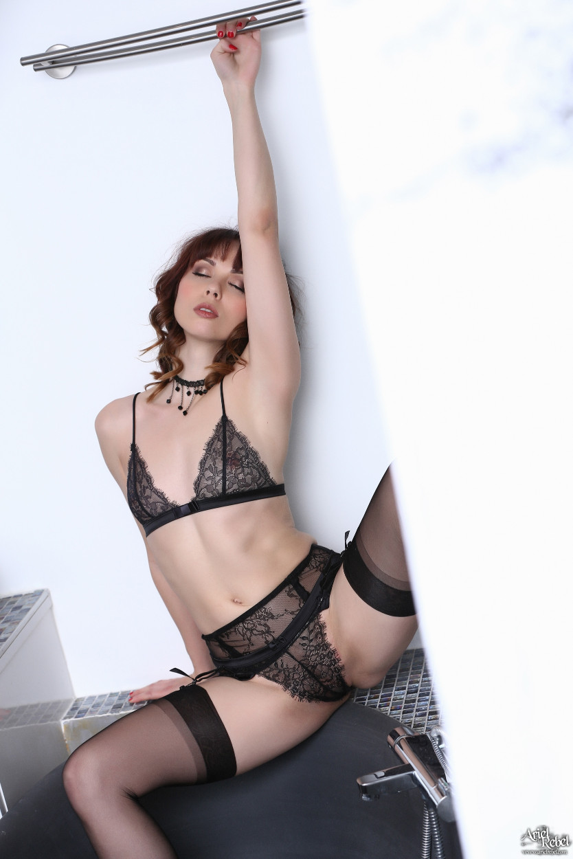 Think, that Ariel rebel black lace valuable