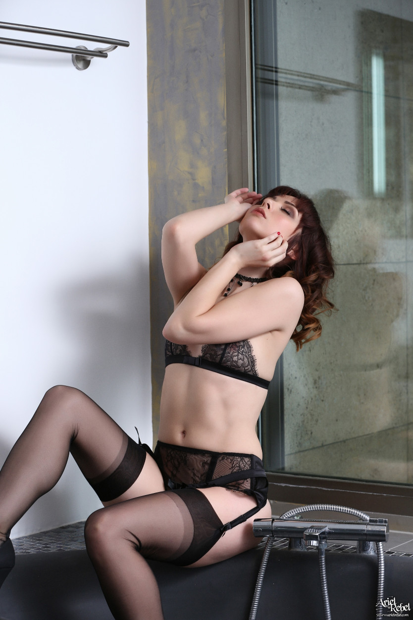 Consider, that Ariel rebel black lace for that