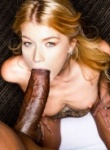 Arya Fae takes abig mouth of black cock and she loves a big cock inside her tight cunt