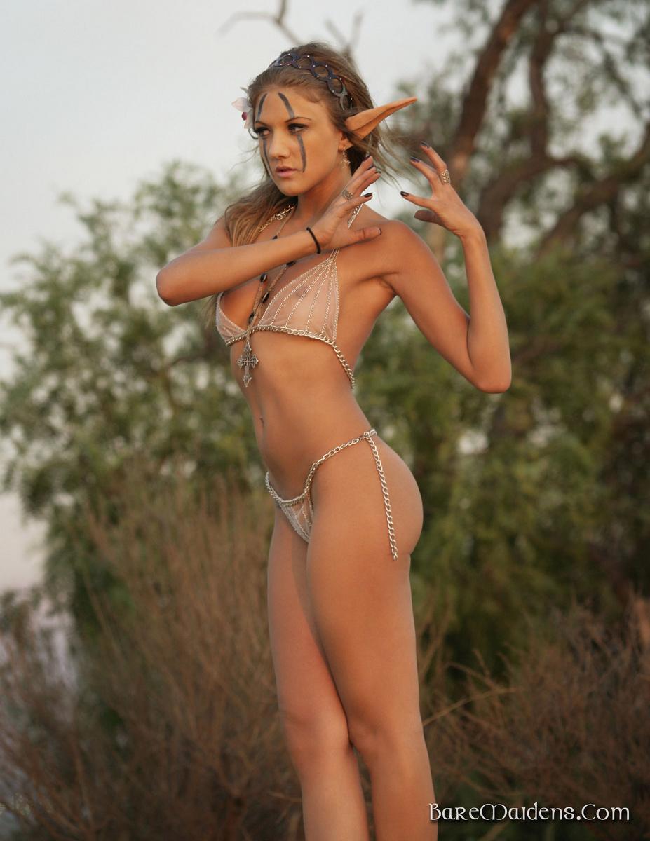 Bare Maidens Mia Private Ritual @ GirlzNation.com