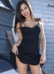 Bella Quinn Black Lacy Dress