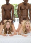 Blacked Karla Kush Interracial Foursome