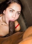 Blacked Raw Alina Lopez gets her hands on some big black cock and is loving it as it goes deep inside her.