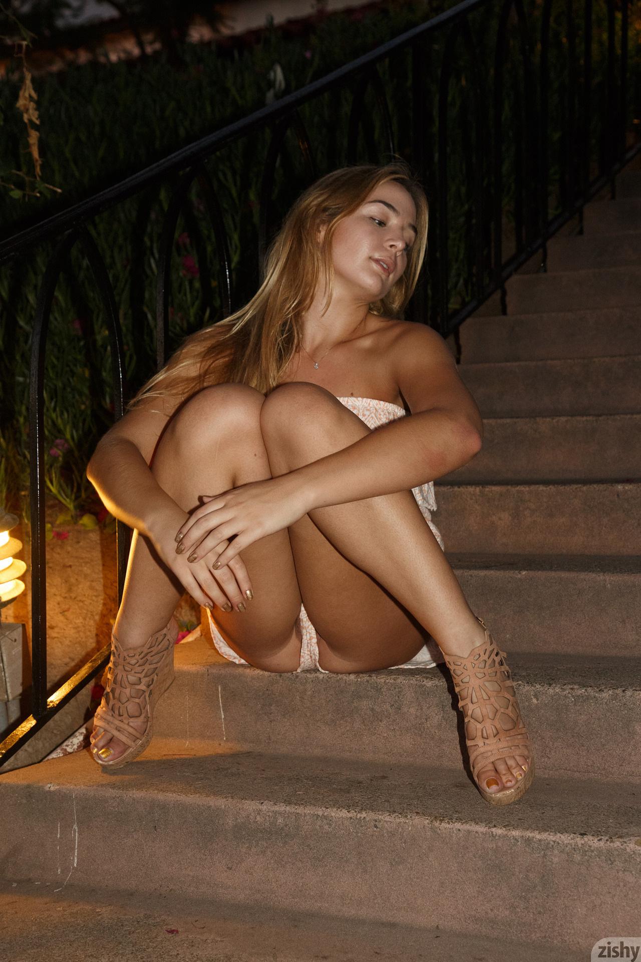Naked blair