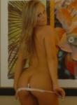 Brooke Lima white thong