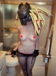 Brooke marks as predator and she is looking dam fine in this sexy cosplay