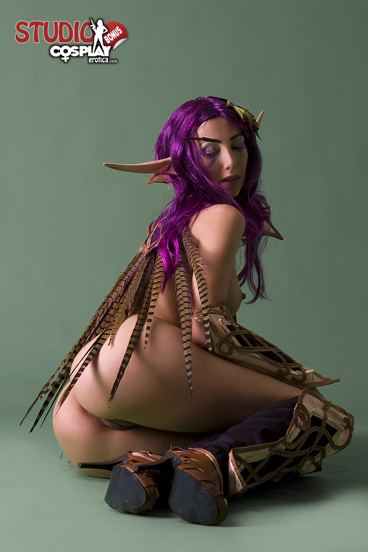 Секс с эльфийкой косплей 9 фотография
