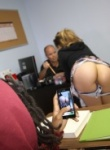 Crazy College GFs Ass Flasher