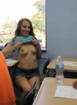 Crazy College GFs Flash Your Tits
