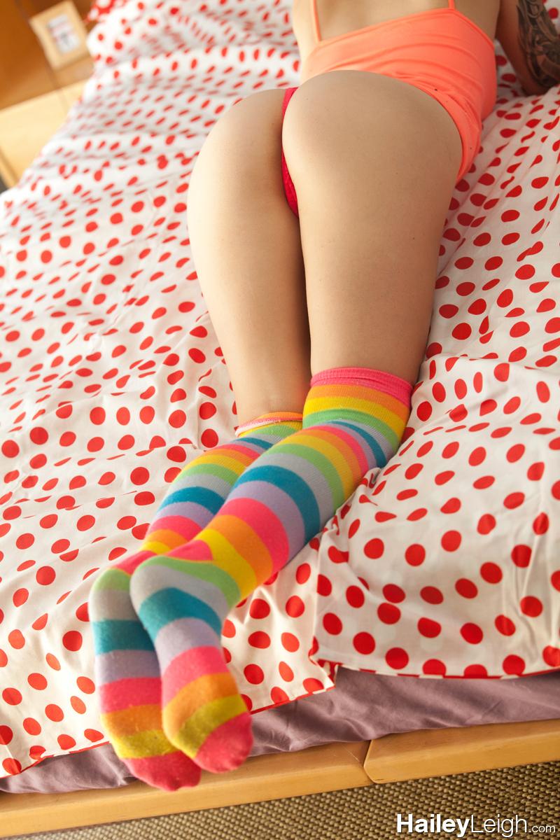 Socks hailey leigh striped