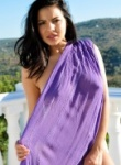 Lacey Banghard Purple Scarf