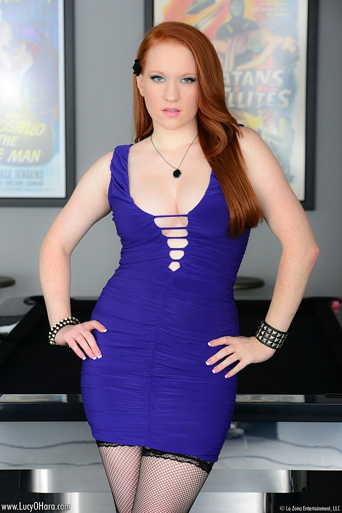 Lucy Ohara Purple People Eater @ GirlzNation.com