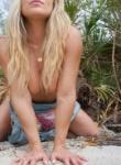 Madden Bikini Beach Tease as she shows off her peachy ass and abit of a nipple flash