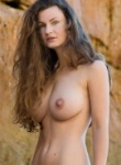 Mariposa teases with her big boobs as this nude beauty certain shows off the perfect body with some big natural boobs