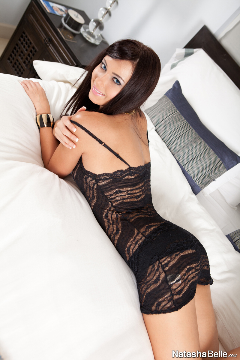 Lingerie black her sheer