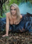 Nikki the evil fairy in the woods stripping ogg like a naughty fairy does