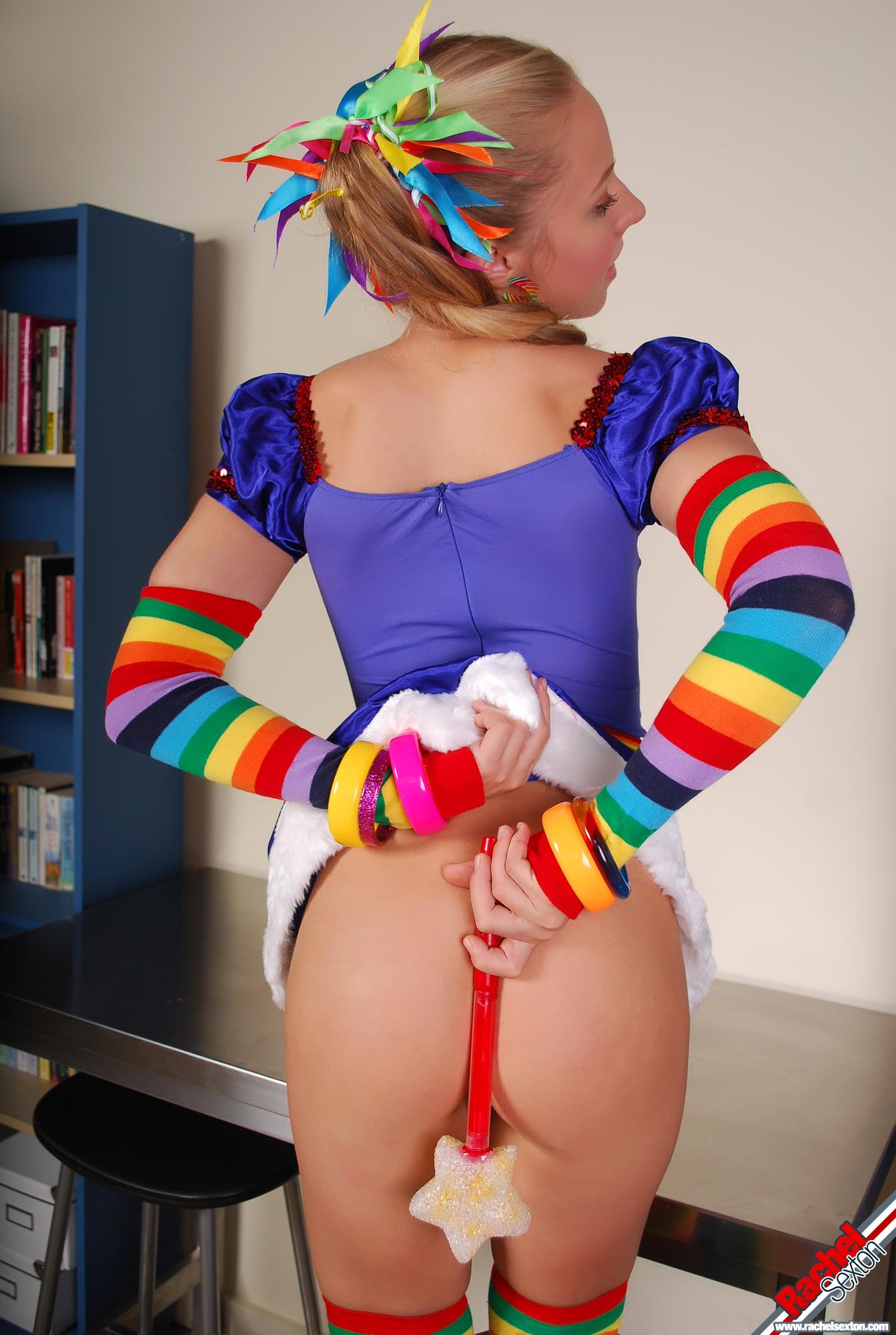 Nude rainbow brite