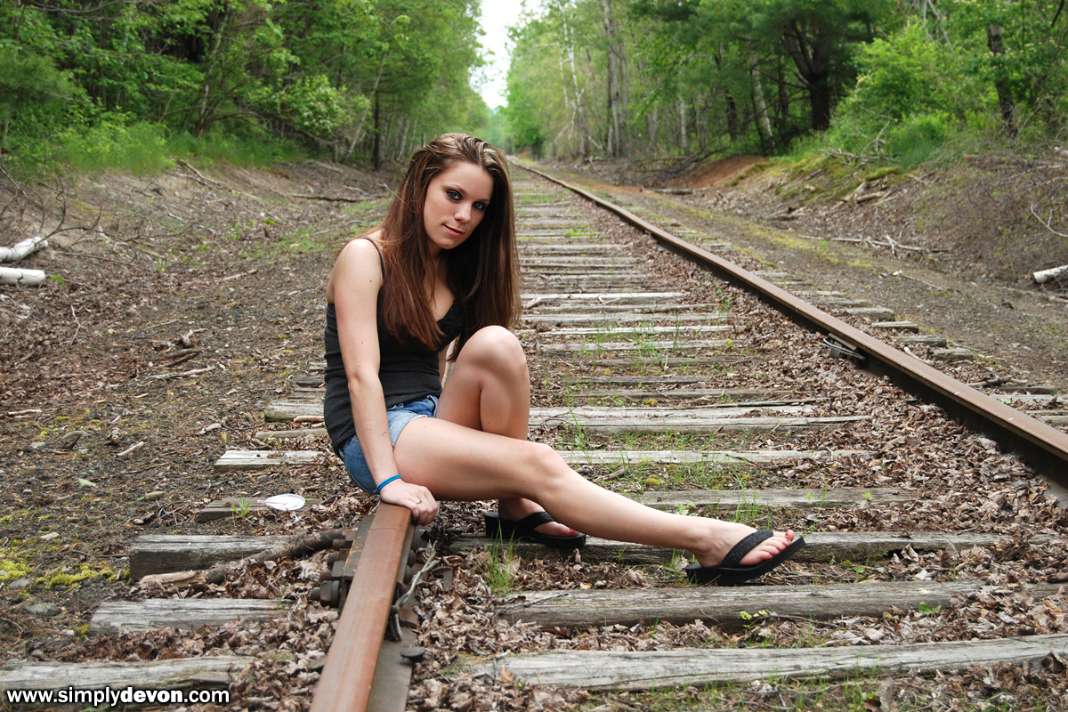 Are not tied naked on the tracks for that