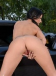Teen Models hot babe hot car