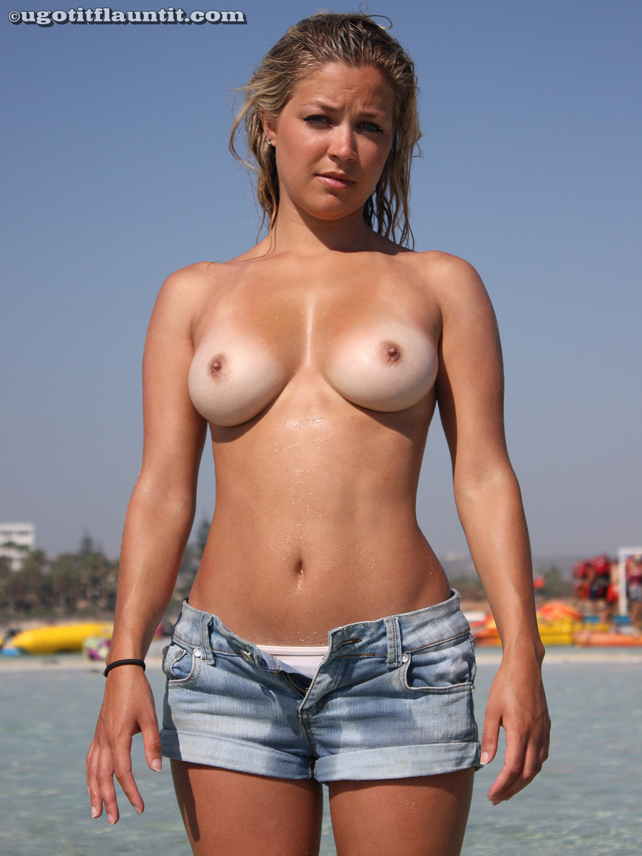 Girl topless on beach in australia Part 2