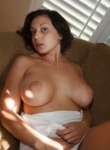Zishy Regina Manfre curvy goddes teases with her massive boobs and nice curvy body