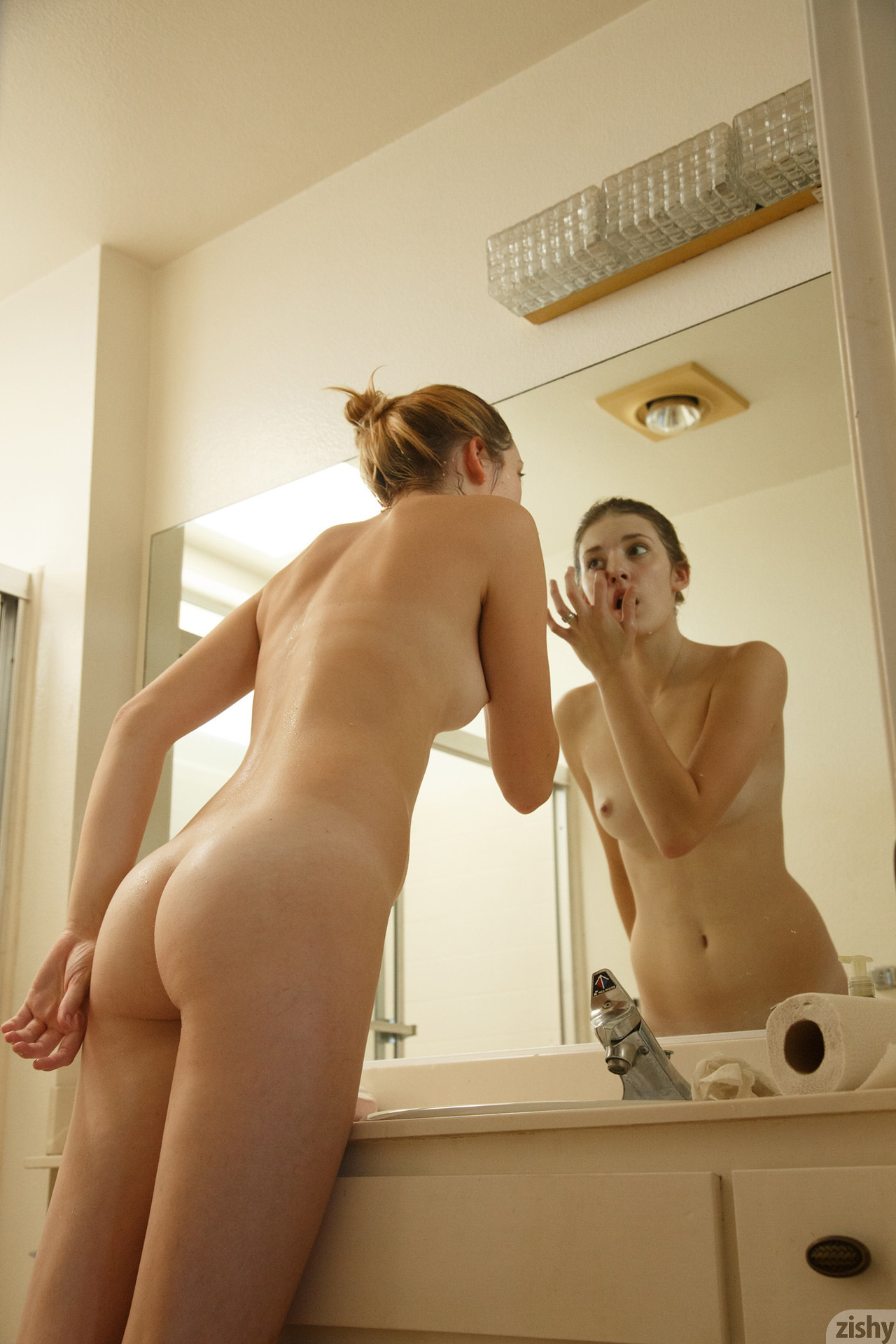 She loves to to get a facial before going to bed 3