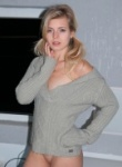 Zoey Ryder Grey Sweater
